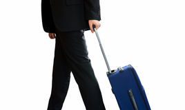 Businessman traveling Stock Image