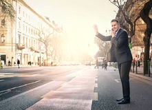Businessman travelling Royalty Free Stock Photo