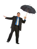 Businessman:  Trying to Stay Balanced Stock Images