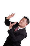 Businessman Under Pressure Stock Photography