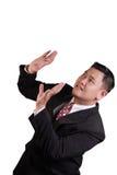 Businessman Under Pressure Stock Photography