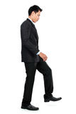 Businessman up the staircase Royalty Free Stock Photo
