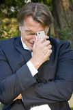 businessman upset Στοκ φωτογραφία με δικαίωμα ελεύθερης χρήσης