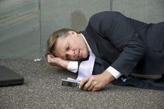 businessman upset Στοκ φωτογραφίες με δικαίωμα ελεύθερης χρήσης