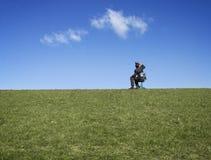 Free Businessman Using Binoculars Stock Photos - 12750493
