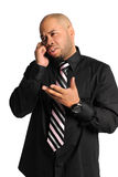 Businessman Using Cellphone Royalty Free Stock Photos