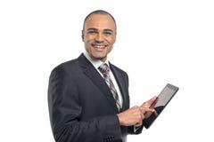 Businessman using digital tablet Royalty Free Stock Photos