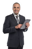 Businessman using digital tablet Stock Photography