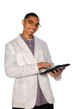 Businessman Using Electronic Tablet Royalty Free Stock Photo