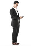 Businessman using a phone Stock Photography