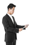 Businessman using a tablet Royalty Free Stock Image