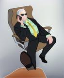 Businessman vector illustration Royalty Free Stock Photos