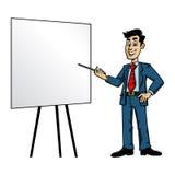 Businessman. A vector illustration of a cartoon businessman Royalty Free Stock Image