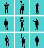 Businessman, vectors work Stock Photo