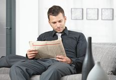 Businessman waiting Stock Photos