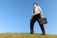 Businessman walk Royalty Free Stock Photography