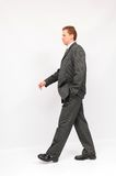 Businessman walking Royalty Free Stock Photo