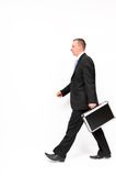 Businessman walking Royalty Free Stock Image
