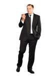 Businessman walking Royalty Free Stock Photography
