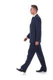 Businessman is walking Stock Photo