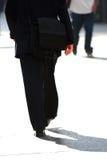 Businessman walking Royalty Free Stock Image