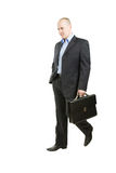 businessman walking Στοκ Φωτογραφία
