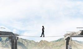 Concept of hidden risks and dangers. Stock Photo