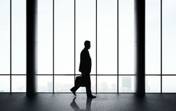 Businessman walking Royalty Free Stock Photography