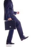 Businessman walking the walk Royalty Free Stock Photography