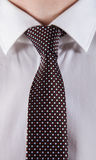 Businessman wearing formal clothes. Closeup shot Royalty Free Stock Image