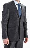 Businessman wearing formal suit and tie Stock Image
