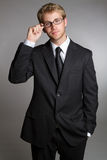 Businessman Wearing Glasses Stock Photography