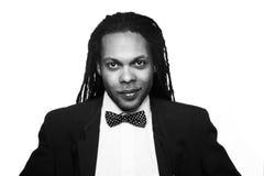 Businessman wearing suit jamaica Royalty Free Stock Photo