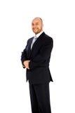 Businessman on white backgroun Royalty Free Stock Image