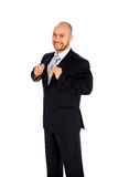 Businessman on white backgroun Royalty Free Stock Photography
