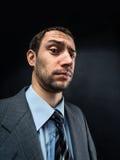 Businessman winking Stock Image