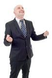 Businessman winning Stock Photos
