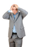 Businessman With Headache Stock Photography