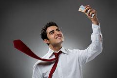 Free Businessman With Money Stock Images - 8586164