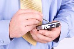 Free Businessman With PDA Stock Photos - 5933513