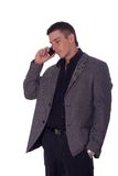 Businessman With Phone Royalty Free Stock Photo