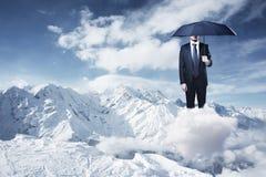 Free Businessman With Umbrella Stock Photos - 59024833