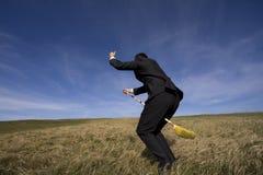 Businessman wizard Royalty Free Stock Photo