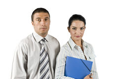 Businessman and woman Royalty Free Stock Photography