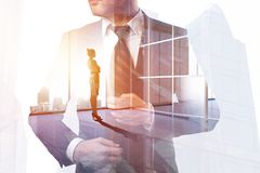 Success and partnership concept Stock Photography