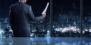 Businessman at work Stock Photos