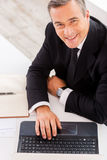 Businessman at work. Stock Photography
