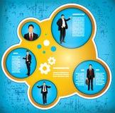 Businessman workflow concept Royalty Free Stock Photos