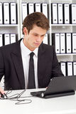 Businessman working Stock Photos