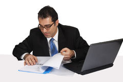 Businessman Working Stock Photos